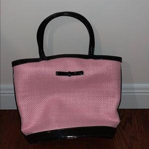 Lulu Guinness straw tilly handbag
